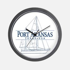 Port Aransas - Wall Clock