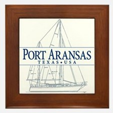 Port Aransas - Framed Tile