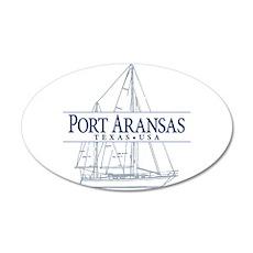 Port Aransas - Wall Decal