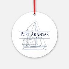 Port Aransas - Ornament (Round)