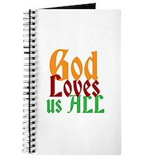 God Loves Us All Journal