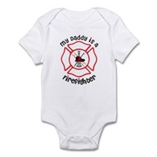 My Daddy Is A Firefighter Body Suit