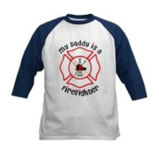 My Daddy Is A Firefighter Baseball Jersey