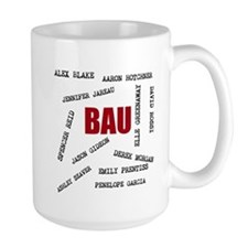 All of the BAU Mugs