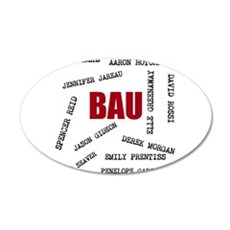All of the BAU Wall Decal