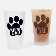 Rescue Dad Drinking Glass