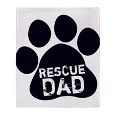 Rescue Dad Throw Blanket