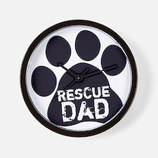 Rescue Dad Wall Clock