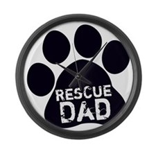 Rescue Dad Large Wall Clock