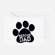 Rescue Dad Greeting Card