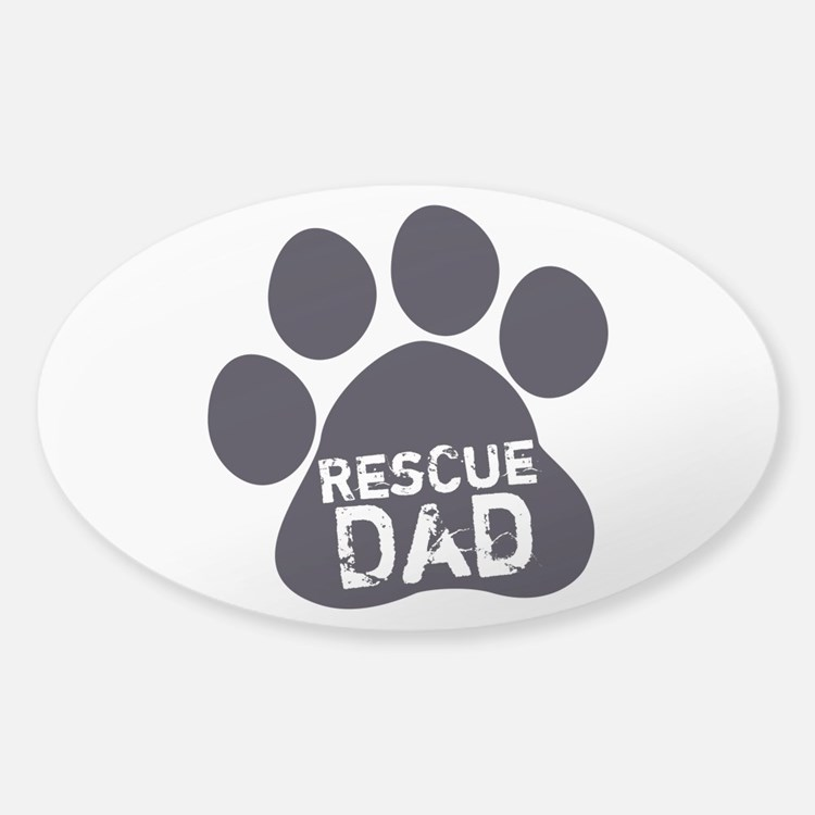 Rescue Dad Decal