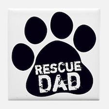 Rescue Dad Tile Coaster