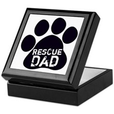 Rescue Dad Keepsake Box