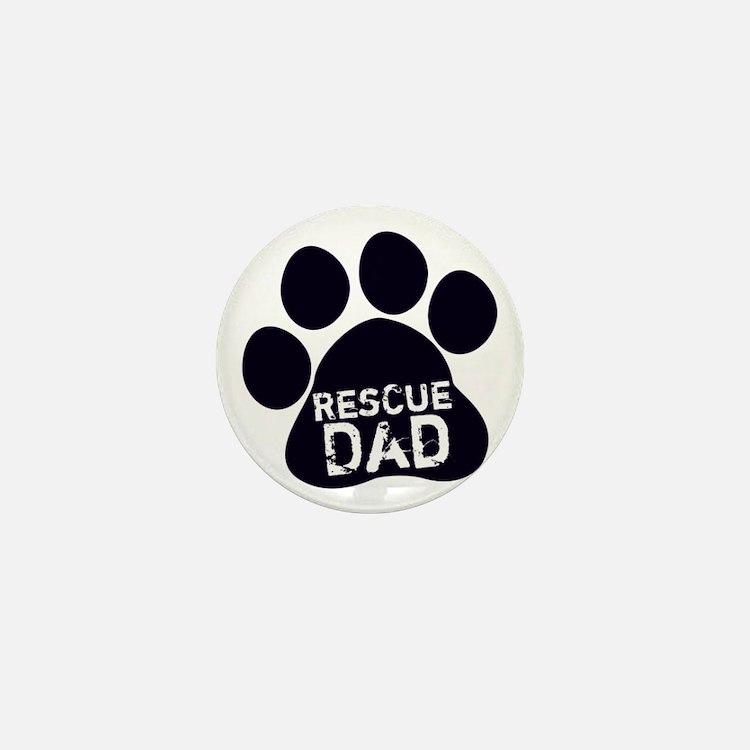 Rescue Dad Mini Button