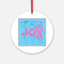 OYOOS JOY support cancer design Ornament (Round)