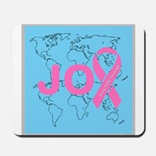 OYOOS JOY support cancer design Mousepad