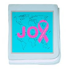 OYOOS JOY support cancer design baby blanket