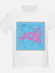 OYOOS JOY support cancer design T-Shirt