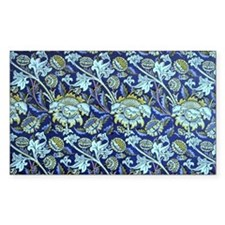 William Morris design - Indigo Decal