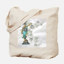 Lady Justice on Satin and Ivy Tote Bag