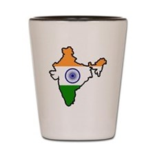 India Map Shot Glass