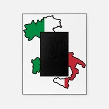 Italy Flag Map Picture Frame