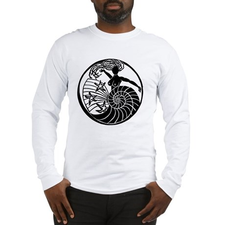 Yemanja, Orixa of the Ocean Long Sleeve T-Shirt