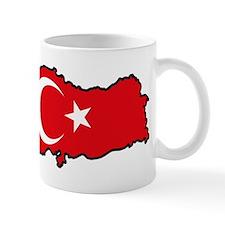 Turkey Flag Map Mug