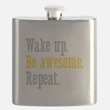 Wake Up Be Awesome Flask
