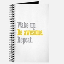 Wake Up Be Awesome Journal
