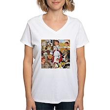 Vintage Nurse Collage T-Shirt
