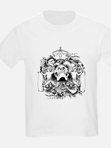 Skull And Cherubs T-Shirt