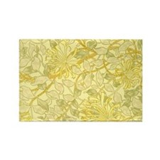 William Morris - Yellow Honeysuck Rectangle Magnet