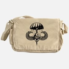 Paratrooper Skull Messenger Bag