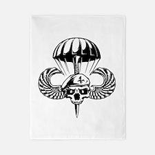 Paratrooper Skull Twin Duvet