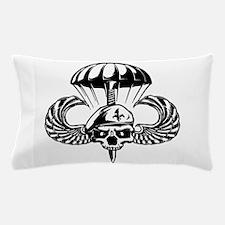Paratrooper Skull Pillow Case