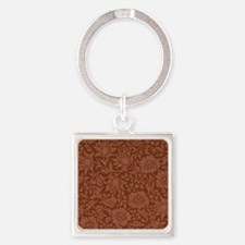 William Morris - Mallow pattern (d Square Keychain