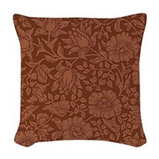 William Morris - Mallow patter Woven Throw Pillow