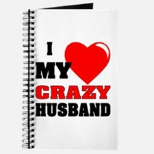 Love My Crazy Husband Journal