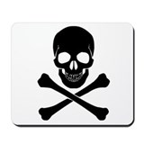 Skull and crossbones Classic Mousepad