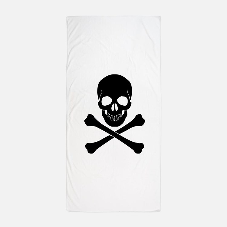 Skull And Crossbones Beach Towels Pool Towels