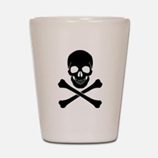 Skull And Crossbones Shot Glass
