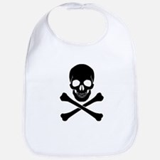 Skull And Crossbones Bib