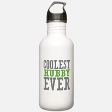 Coolest Hubby Ever Water Bottle