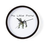 My Little Pwny Wall Clock