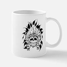 Native American Skull Mugs
