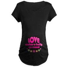 Love Round Maternity T-Shirt