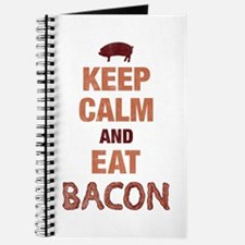 Keep Calm Eat Bacon Journal