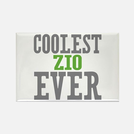 Coolest Zio Ever Rectangle Magnet