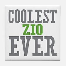 Coolest Zio Ever Tile Coaster